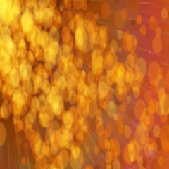 Abstract glowing dust particle background Stock Footage