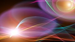 abstract backgrounds smooth lines and light flash Stock Illustration