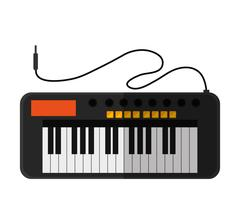 Isolated piano instrument design Piirros