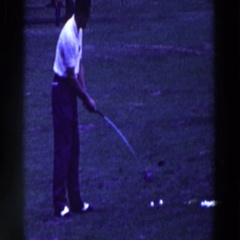 1961: not your ordinary golf club RIDGEFIELD, NEW-JERSEY Stock Footage