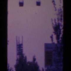 1964: the exterior of the house of japan restaurant WORLD'S FAIR, NEW YORK CITY Arkistovideo