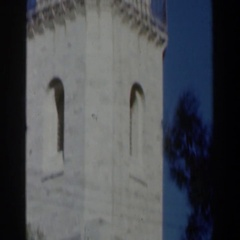 1960: looking around during the day at things from our past ISRAEL Stock Footage