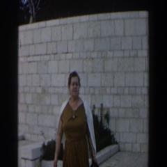 1960: old women talking ISRAEL Stock Footage