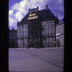 1975: a cameraman on a very fun tour of a city. COPENHAGEN Stock Footage