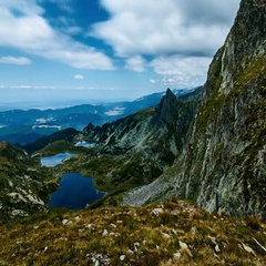 Timelapse of the seven rila lakes, Bulgaria Stock Footage