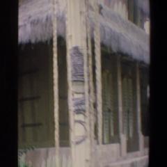 1973: house on the beach WALT DISNEY WORLD FLORIDA Stock Footage