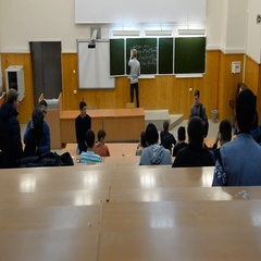 Students in a large university auditorium (classroom) are prepared to learn Stock Footage