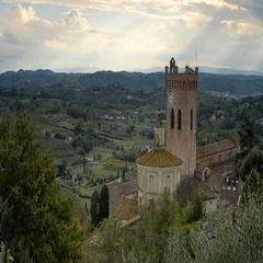 San Miniato, Tuscany, Italy Stock Footage