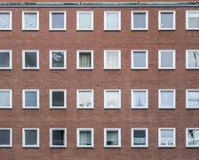 Generic house facade Stock Photos