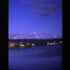 1975: beauty of a city at night COPENHAGEN Stock Footage