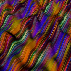 Psychedelic Surface Stock Footage