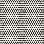 Vector Seamless Random Squares Irregular Pattern Stock Illustration