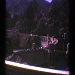 1969: wall with generators ARIZONA Stock Footage