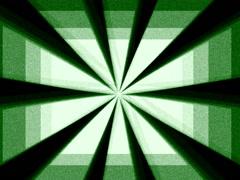 Retro Abstract Grainy Sunburst Rotating Geometric Loop Background Stock Footage