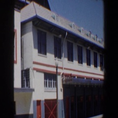 1964: large building SAINT LOUIS MISSOURI Stock Footage