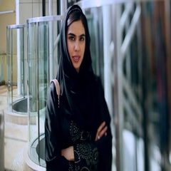 Portrait of Arab woman with arms crossed. Stock Footage