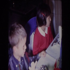 1961: all for a kid's dinner table. NORTH HOLLYWOOD, CALIFORNIA Stock Footage