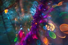 Multicolored Christmas bright abstract background. Kuvituskuvat