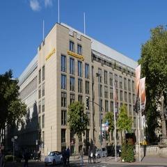 Commerzbank Dusseldorf Stock Footage