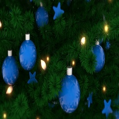 New Year tree Stock Footage