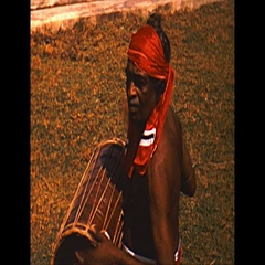 Vintage 16mm film, 1958 Ceylon, drummers Stock Footage