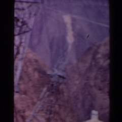 1958: vintage footage of powerlines TEXAS Stock Footage