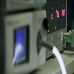 Equipment for laparoscopy closeup Stock Footage