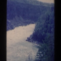 1963: nature's beauty in its most natural form NIAGARA FALLS Stock Footage