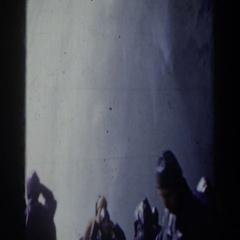 1963: fast flowing waterfall NIAGARA FALLS Stock Footage