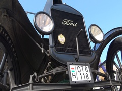 Vintage vehicle car Ford Model T Stock Footage