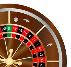 Roulette Wheel Spin Stock Illustration