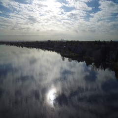 Beautiful river COLORADO Stock Footage