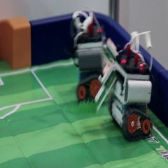 4rd International Exhibition of Robotics and advanced technologies Stock Footage