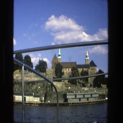 1975: vacationers exploring the city in germany! STOCKHOLM SWEDEN Stock Footage