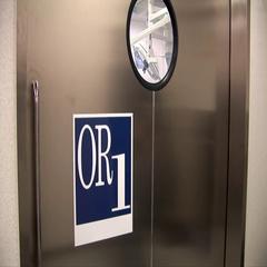 OR door open Stock Footage