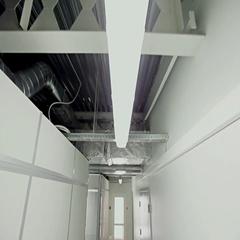 Office building corridor Stock Footage