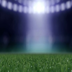 Soccer ball movint to the center of camera view Stock Footage