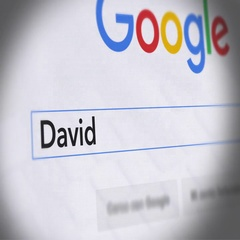 Google Search Engine - Search For David Cameron Stock Footage