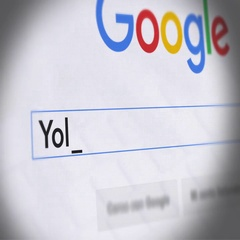 Google Search Engine - Search For Yoli diet Stock Footage