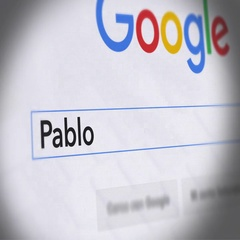 Google Search Engine - Search For Pablo Escobar Stock Footage