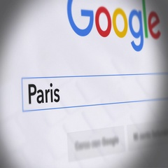 Google Search Engine - Search For Paris Shooting Stock Footage
