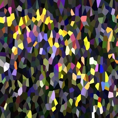 Multicolored mosaic Stock Footage