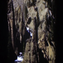 1951: rock formations in the wilderness WYOMING Stock Footage