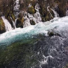 Pearl Shoal Waterfall. Stock Footage