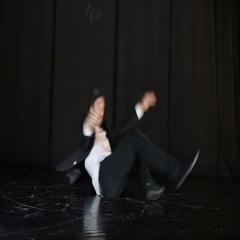 Pantonima dancer on stage Stock Footage