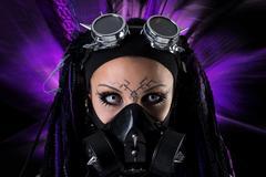 Cyber Gothic girl Kuvituskuvat