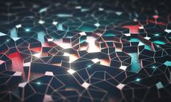 Artificial Intelligence / Neural Network Stock Illustration