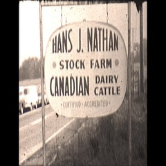 Vintage 16mm film, 1967, Fire farm hay fire, smoky, shaky and rough Stock Footage