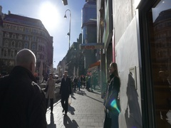 Vienna first district street Stock Footage