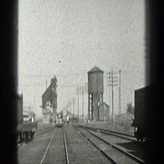 1936: people crossed the street CALIFORNIA Stock Footage